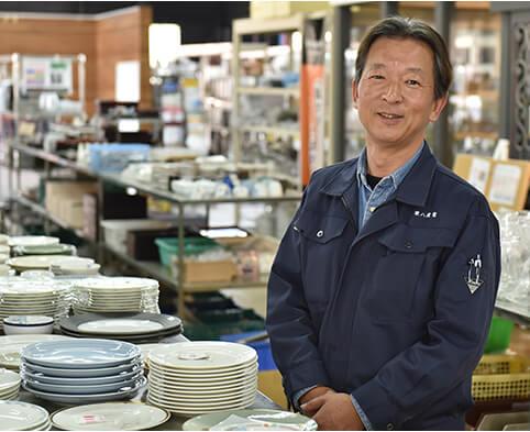 リサイクルヒット店長坂口